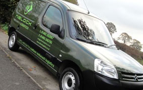 Niblock eco-friendly van