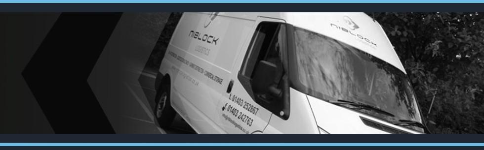 Niblock Logistics Van